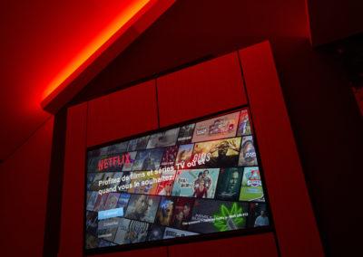 TV avec Netflix